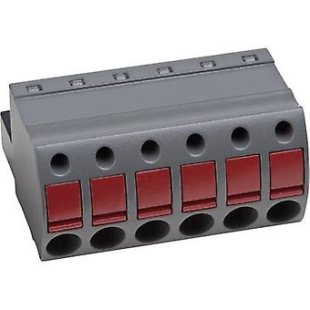 PTR Socket enclosure - cable AK(Z)4951 Total number of pins 12 Contact spacing: 5.08 mm 54951120421D 1 pc(s)