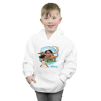 Disney Boys Moana And Maui Wave Hoodie