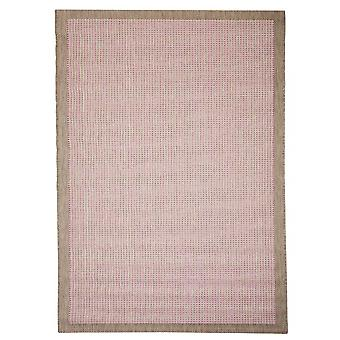 Buiten tapijt voor terras / balkon voor Essentials chroom roze 200 / 290 cm tapijt binnen / buiten - voor binnens- en buitenshuis
