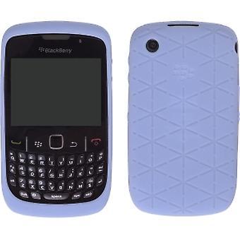 5 Pack -OEM BlackBerry Curve 8520, 8530, 9300, 9330 Curve 3G, Embossed Skin Case - Kandor Frost