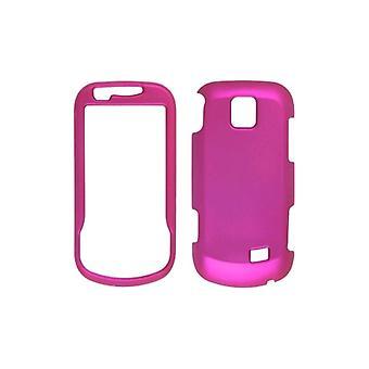 5 pack - Soft Touch Snap-On avec étui pour Samsung Intercept SPH-M910 - Hot Pink