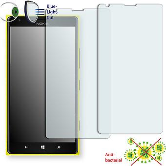 Nokia Lumia 1520 screen protector - Disagu ClearScreen protector (deliberately smaller than the display, as this is arched)