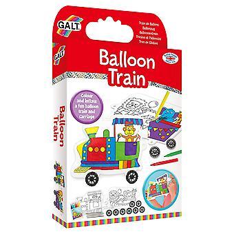 Galt balon pociąg, statek zestaw dla dzieci