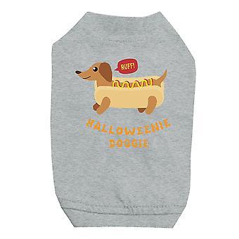Halloweenie わんわんペット グレーシャツ小型犬用
