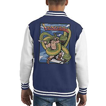 Venture Game Cover Art Kid's Varsity Jacket