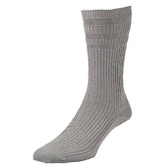 HJ91 Hall MENS SOFTOP No Elastic Cotton Rich Socks 11-13 3pk