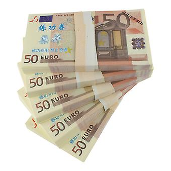 Play money-50 Euro (100 banknotes)