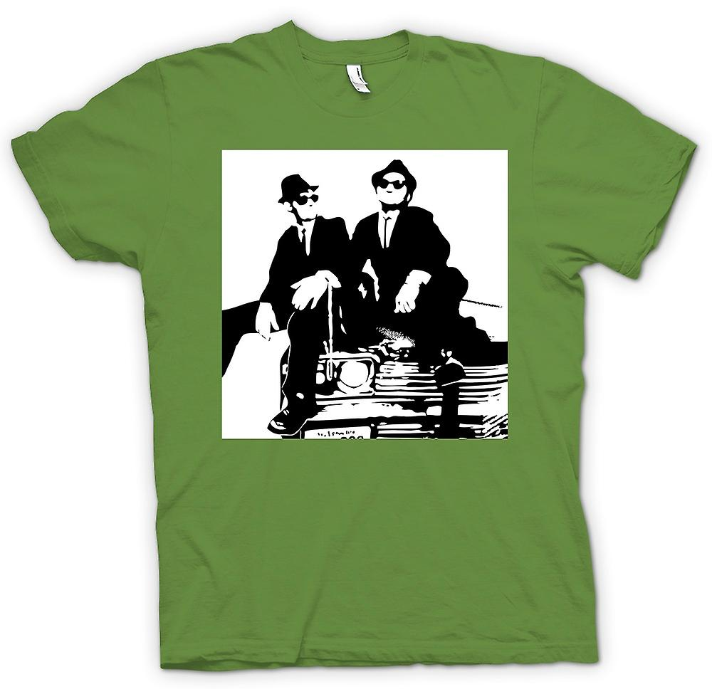 Herren T-Shirt - Blues Brothers - Pop-Art