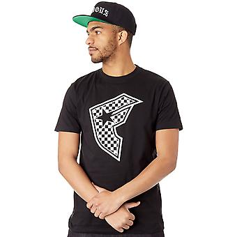 Famous Stars and Straps Black Checker Badge T-Shirt