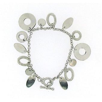 Pierre Cardin Ladies - Girls Silver Plated Multi Charm Bracelet
