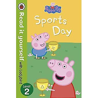 Peppa Pig: Sportdag - Lees het zelf met lieveheersbeestje: niveau 2