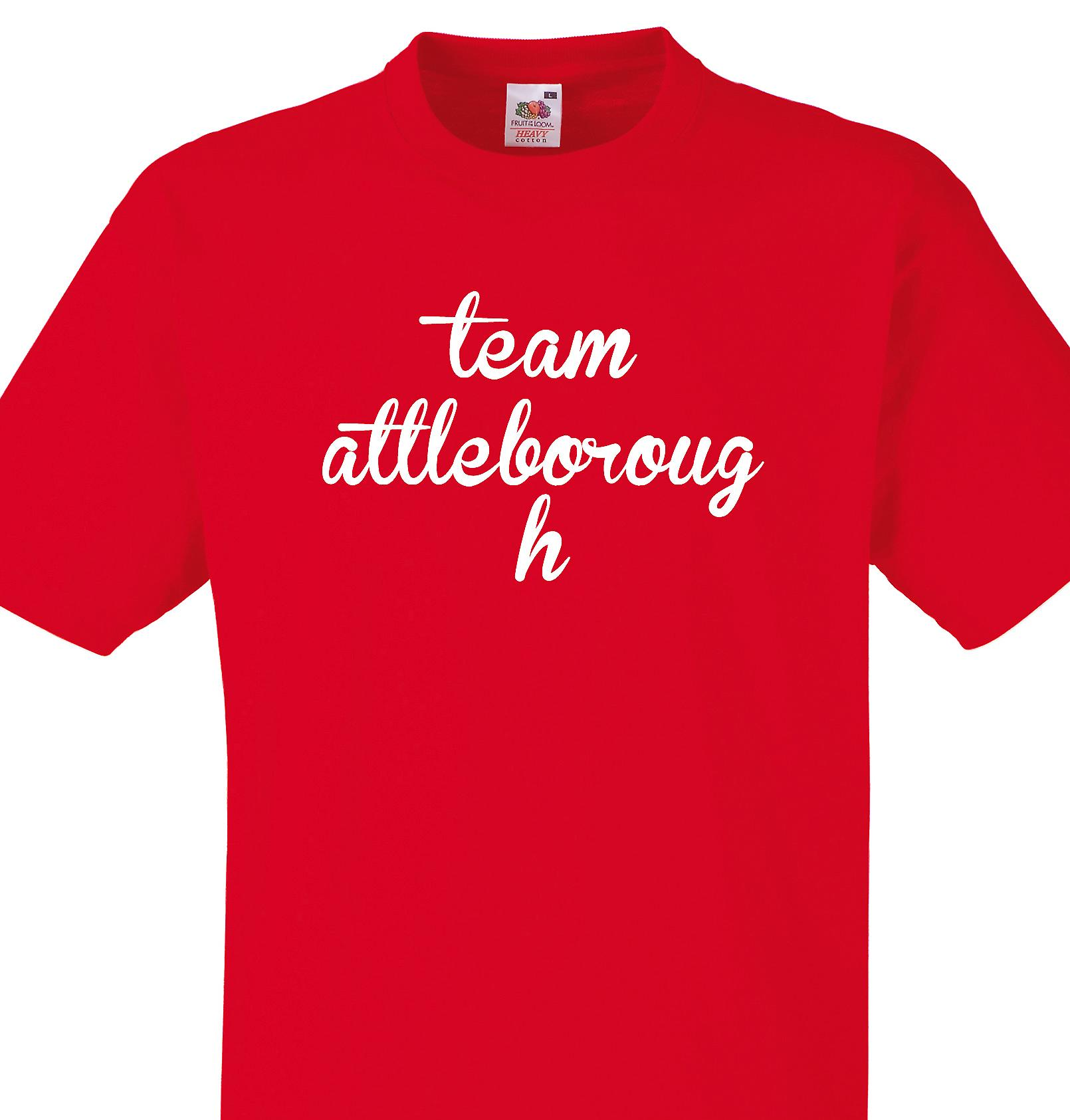 Team Attleborough Red T shirt