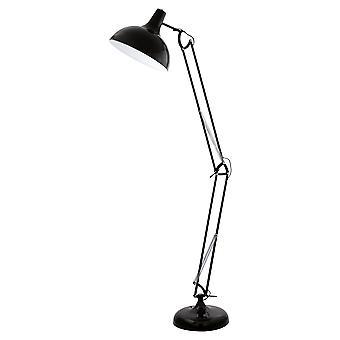 Eglo - Borgillio nero piano regolabile luce EG94698