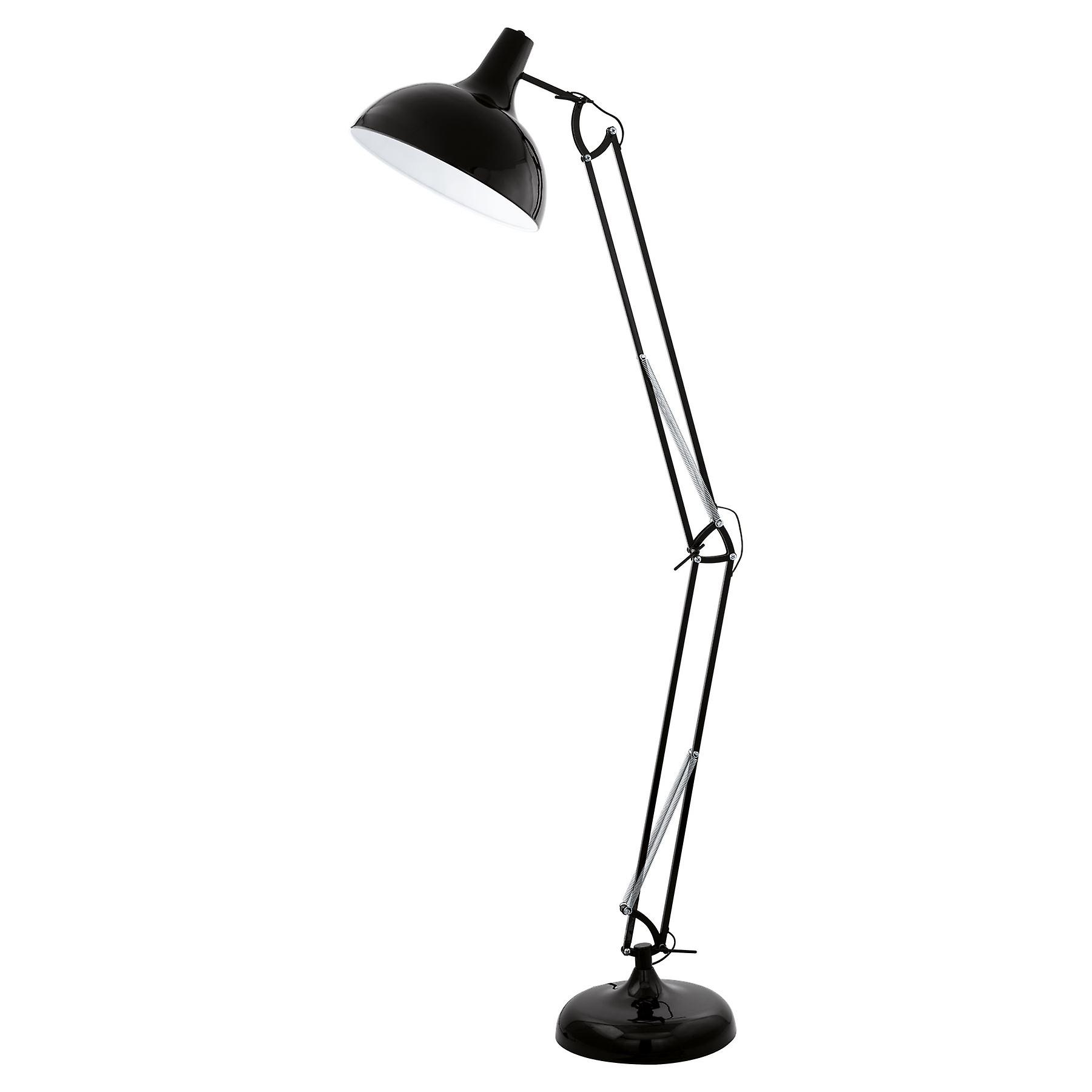 Eglo - Borgillio noir Adjustable Floor Light EG94698