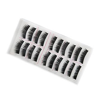 10 pairs thick false eyelashes lashes, false eyelashes