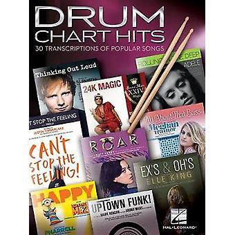 Drum Chart Hits - 30 Transcriptions Of Popular Songs by Hal Leonard C