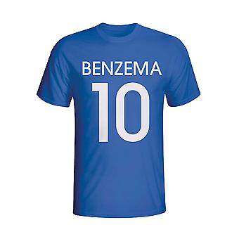 Karim Benzema France Hero T-shirt (blue)