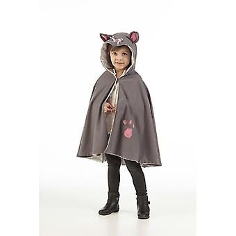Cloak kitten children's cape children's costume children's cape costume children's