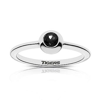 University Of The Pacific - Tigers Engraved Black Onyx Ring