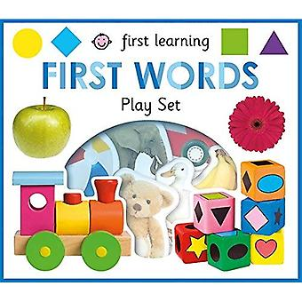 First Words: First Learning� Play Sets (First Learning Play Sets) [Board book]