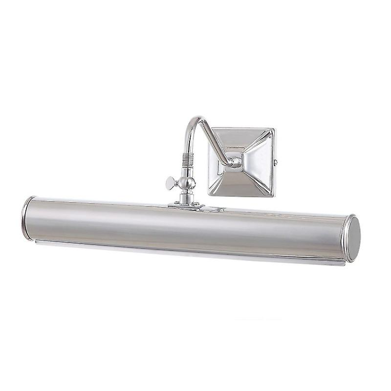 2 Light Large Picture Wall Light Polished Chrome