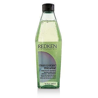Redken Clean maniaque micellaire nettoyer-Touch shampooing 300ml/10,1 onces