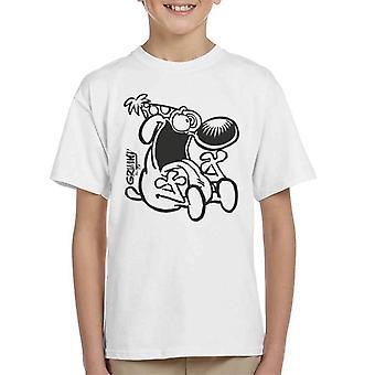 Grimmy Crazy Birthday Boy Kid's T-Shirt
