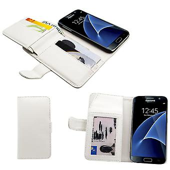 Cas en cuir/Wallet-5pcs carte slot-Samsung Galaxy S7 Edge