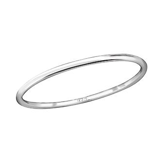 Band - 925 Sterling Silver Plain Rings - W29250X