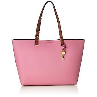 Fossil Damentasche? Rachel Shopper - Pink Women's Tote Bags (Wild Rose) 11.43x27.94x34.29 cm (B x H T)