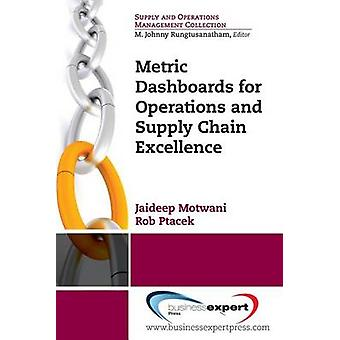 Metric Dashboards for Operations and Supply Chain Excellence by Motwani & Jaideep