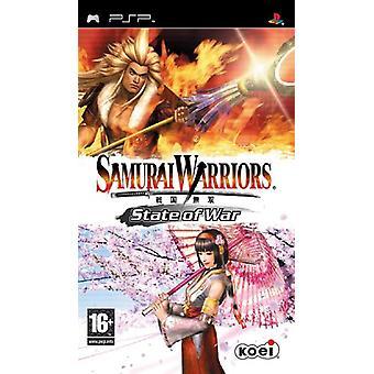 Samurai Warriors State of War (PSP) - Usine scellée