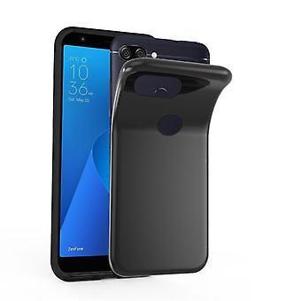 Cadorabo Hülle für Asus ZenFone MAX PLUS M1 Case Cover - Handyhülle aus flexiblem TPU Silikon – Silikonhülle Schutzhülle Ultra Slim Soft Back Cover Case Bumper
