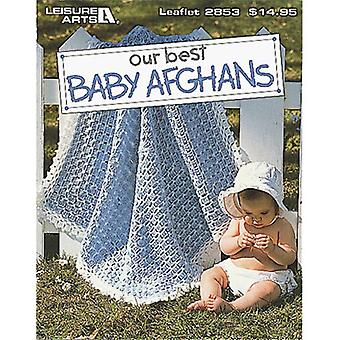 Leisure Arts Our Best Baby Afghans La 2853
