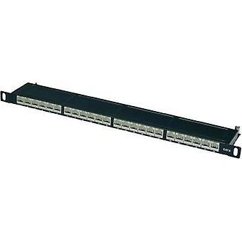 24 ports Network patch panel Digitus Professional DN-91624S-SL-SH