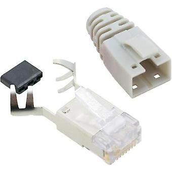 BEL Stewart Connectors SS39CWE SS39CWE RJ45 Connector CAT 6 8P8C RJ45 Plug, straight Ecru
