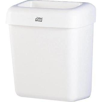 Garbage bin 20 l TORK (W x H x D) 322 x 430 x 205 mm White 1 pc(s)