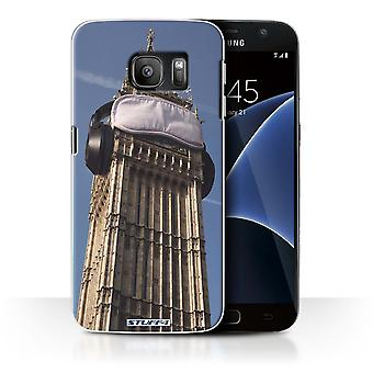 STUFF4 Case/Cover for Samsung Galaxy S7/G930/Lazy Morning/Imagine It
