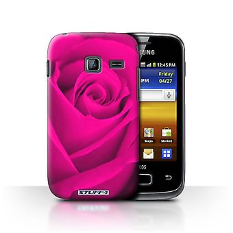 STUFF4 Case/Cover for Samsung Galaxy Y Duos/S6102/Pink/Rose