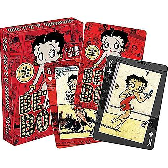 Betty Boop Comic Strips set of playing cards    (nm)