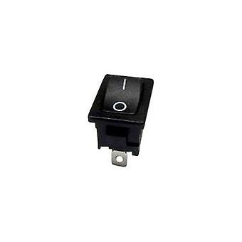 Toggle switch 250 Vac 6 A 1 x Off/(On) SCI R13-66F