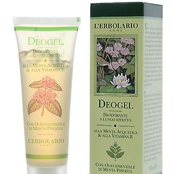 L'Erbolario deogel deodorant Mint Acuatica (Woman , Cosmetics , Body Care , Deodorants)