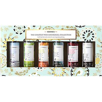 Korres The Greatest Mini Showergel Collection Gift Set