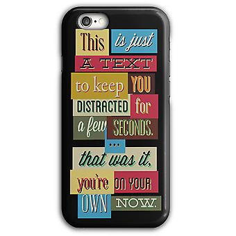 Text distraktion USA Lonesome iPhone Case 5/5S 6/6S 6Plus/6SPlus | Wellcoda
