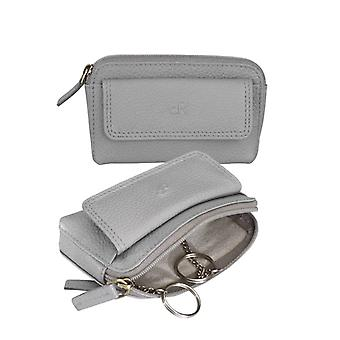 Dr Amsterdam Key-case Mint Elephant Skin Grey