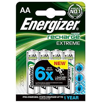 Energizer HR6 NiMH batteries (4 pcs) (AA) 2300mAh Extreme Preloaded