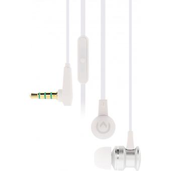 Mobilize Headset In-ear 3.5 mm wired inline mic Silver