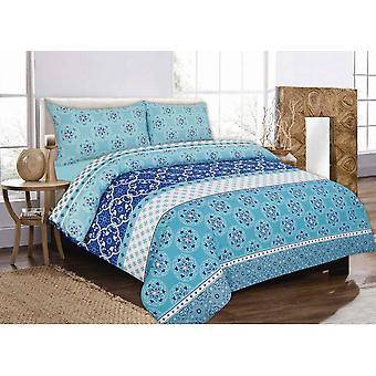 Robyn gedruckt Quilt Bettbezug Bettwäsche Set