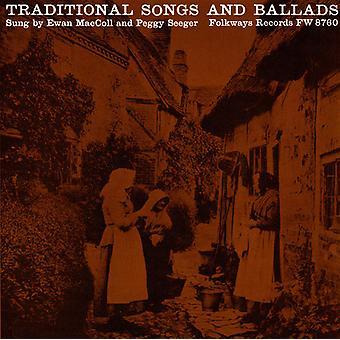MacColl/Seeger - import USA tradycyjne pieśni & ballady [CD]