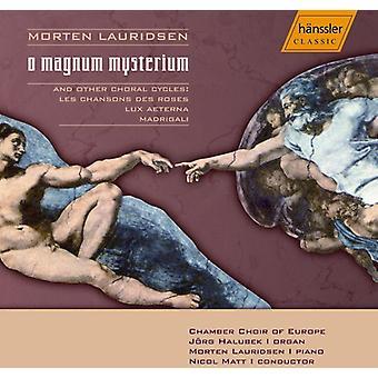 M. Lauridsen - Lauridsen: Importazione di USA O Magnum Mysterium [CD]